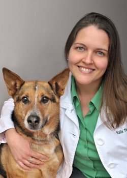 My Vet's the Best contest finalist, Dr. Katie Thomas.