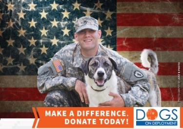 Pets Best is national sponsor for Dogs on Deployment in 2015.