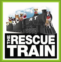 The Rescue Train's logo.