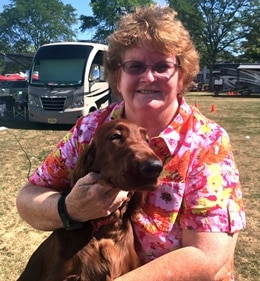 Veterinary Technician, Anne Marie Kubacz, winner of the Why I Love Being a Vet Tech contest.