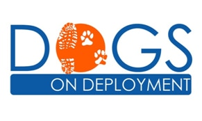 The Dogs on Deployment logo.