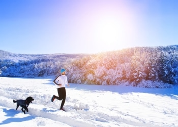 Fitness and exercise tips for your dogs and cats during winter.